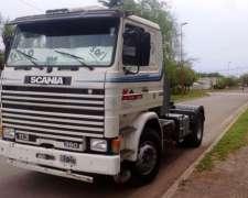 Scania 113 Hp 360 Corto Frontal Con Plato