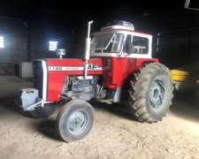 Massey Ferguson 1185 año 1979, Cabina Hidraulicos