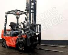 Autoelevador Heli 1800 Kg Diesel CPCD18 Xinchai Desplazador