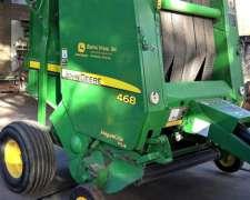 Rotoenfardadora John Deere 468 Con Recolector Mega Wide Plus