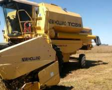 Cosechadora New Holland TC 59 con 23 Pies - año 1998