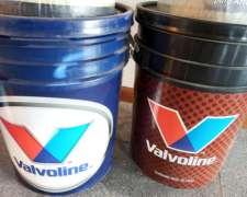 Vendo Baldes de Aceites Hidraúlico de 20 Litros Valvoline