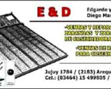 Ventas De Repuestos Para Cosechadoras Arequito Santa Fe Cel.