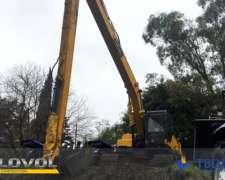 Excavadora a Orugas Lovol Fr220d Brazo Largo Cummins Kawasak