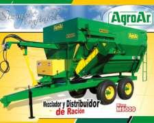 Mezclador Y Distribuidor De Ración M 9009 - Agroar