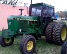 Tractor Marca John Deere 4050