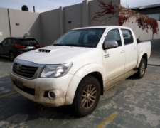 Unico Dueño, km Reales. Excelente. Toyota Hilux 3.0 SRV 201