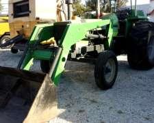 Tractor Deutz AX 100 con Pala