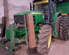 Tractor John Deere 6180j con Pisa Palos