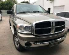 Dodge Ram 2500 4x4 Año 2007 Vt