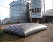 Tanque Bolsa 1.500 A 500.000lts Acopio De Líquidos