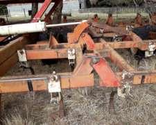 Cultivador de Campo Juber de 8 Mts con Escardador Rotativo