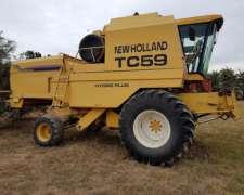 New Holland TC 59, 2001, 23 Pies, 7200 Hs
