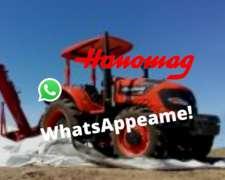 Tractor Hanomag TR85 80hp 4wd Agrícola