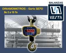 Dinamómetros Vesta Serie 3270