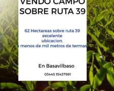 Vendo Campo en Basavilbaso