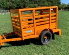 Acoplado Jaula para Transportar Animales