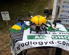 Pulverización con Drones -