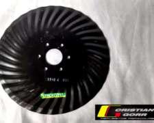 Cuchilla Turbo 33 Ondas 16 Pulgadas / Sembradora Pierobon