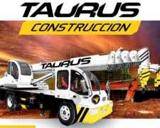 Grúa Taurus Gt6 Elevador Pluma 6 Toneladas