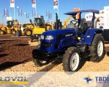 Tractor Lovol TB504 4X4 50hp Tres Puntos Mecanico