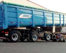 Batea Cerealera Ombu 1+1+1 para 55.5 TN
