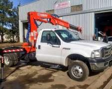 Transporte Con Camion F 4.000 Con Hidrogrua A Todo El Pais