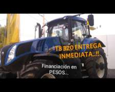 Tractor New Holland T8 320 Disponible. Entrega Inmediata.