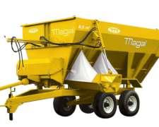 Mixer 8,5 Y 6 M3 - Nuevo - Magal S.r.l.