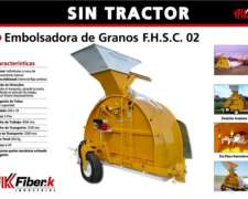 Embolsadora de Granos Secos Fibe-k - sin Tractor Exelente