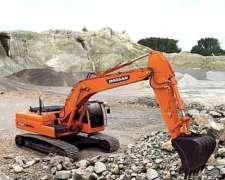 Excavadora Sobre Orugas Doosan DX225 LCA