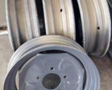 4 Llantas para Carro 650x16 sin USO