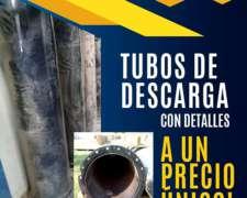 Tubo de Descarga 9080/9060/6080