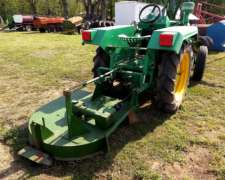Tractor 60 HP, con Cespera 3 P Motor Indenor