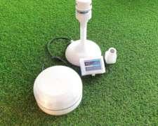 Control de Pulverización Estación Meteorológica Móvil