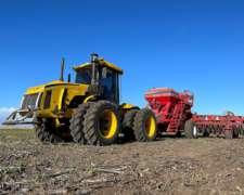 Servicio de Siembra, Fertilización y Rastra de Disco