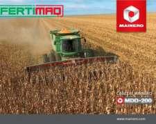 Lanzamiento Cabezal Mainero MDD200 14 a 22 Surcos