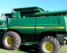 Cosechadora John Deere 9650, Doble Tracción Año 2009