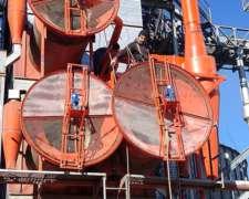 Sistema de Malla Filtrante para Secadora de Granos