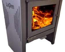 Calefactor Lepen Estufa Salamandra A Leña 13000 Kcal Alto