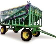 Tolva Semillera/fertilizante Con Divisorios Y Chimango