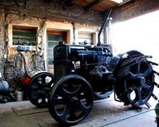 Vendo Tractor Case De 1924 Alma Atravesada Restaurado