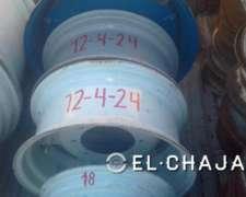 Llanta Agricola para Tractor 12-4-24 (8 Agujeros)