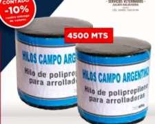 Promo Fin de Campaña Hilo para Arrolladora Campo Argentino