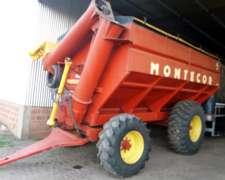 Autodescargable Montecor 2 Ejes 17 TT con Balanza y Cubierta