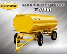 Acoplado Tanque T 3000 - Grosspal