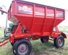 Tolva Semilla/fertilizante 10tt Tapa Facil Gomas Usada 2016