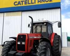 Tractor MF 297, año 2004