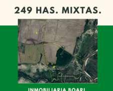 Campo Vendo 249 Has. Mixtas Dto. Rosario del Tala