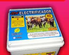 Boyero Electrificador 2.3 Joule 40 Km 220 V
